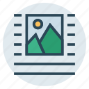 align, alignment, center, format, photo icon