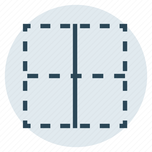 Border, center, column, layout, table icon - Download on Iconfinder