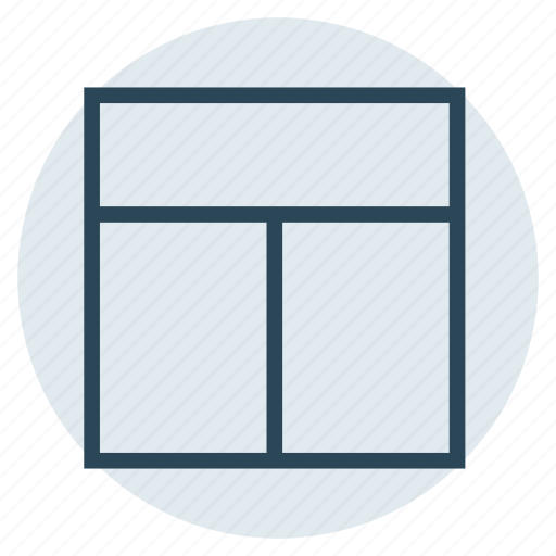 format, layout, menu, template, view icon
