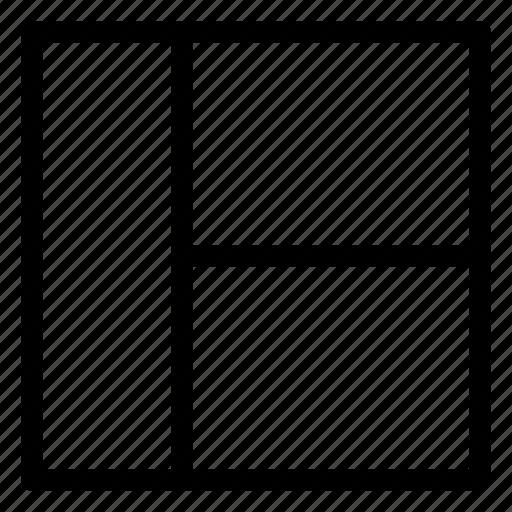 layout, left, sidebar, style icon
