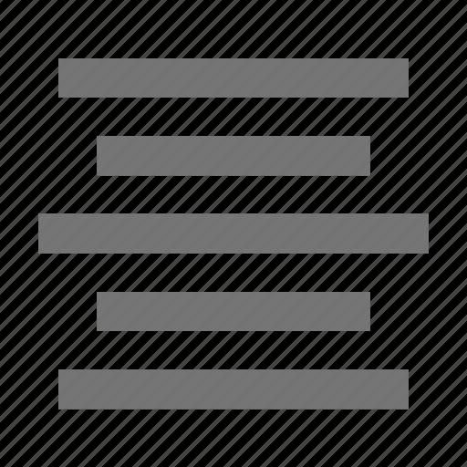 align, align center, alignment icon