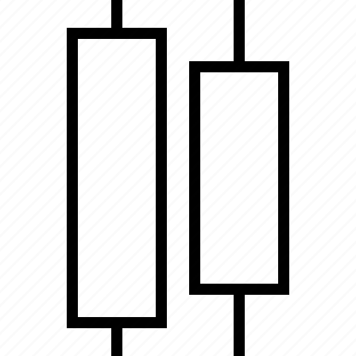 align, center, distribute, horizontal icon