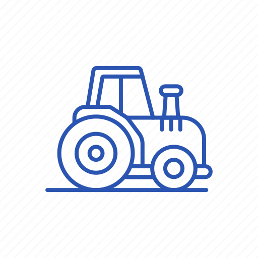 drive, tractor, worker icon