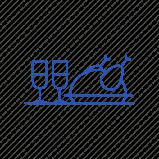 Chicken, drink, food icon - Download on Iconfinder