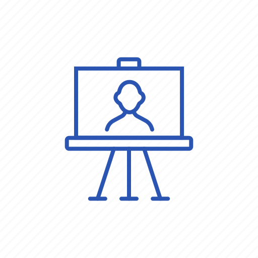 Easel, picture, portrait icon - Download on Iconfinder