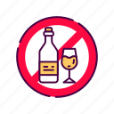 alcohol, allergenic, allergy, drink, food, ingredient, intolerance icon