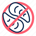 allergens, allergy, food, meat, mollusc, mollusks, seafood icon