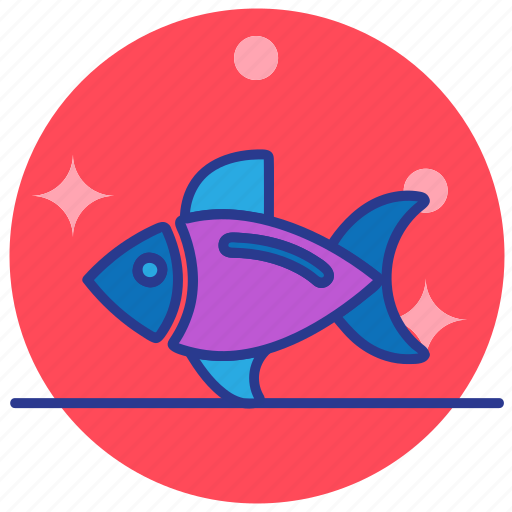fish, food, health, healthy, meal, seafood icon