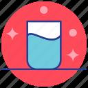 drink, glass, health, medical, medicine, milk, water icon