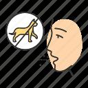allergen, allergy, cat, fur, pet, reaction, sensitivity icon