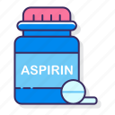 allergy, aspirin, medicine icon