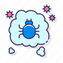 allergy, dust, mites icon