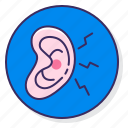 allergy, ear, infection icon
