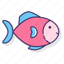 allergy, fish, food icon