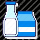 allergy, drink, milk