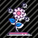 allergy, flower, pollen icon