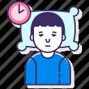 allergy, disorder, sleep icon