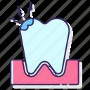 allergy, pain, teeth icon