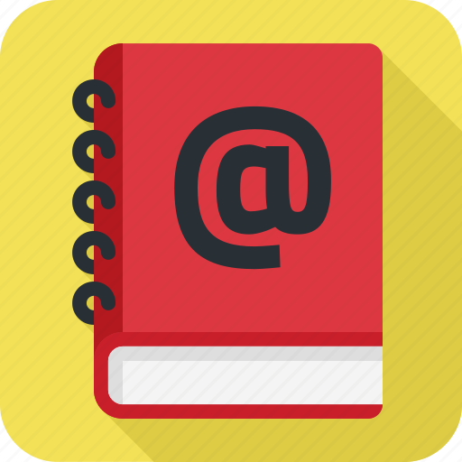 address, book, contact, contacts icon