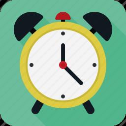 alarm, alert, clock, timer icon