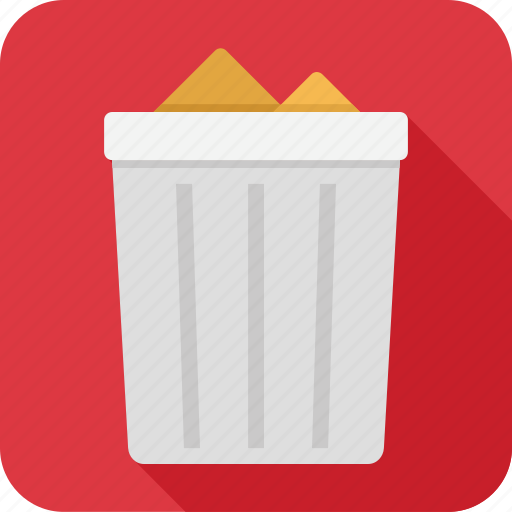 can, full, recycle, trash icon