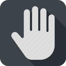 cursor, finger, gesture, hand, touch icon