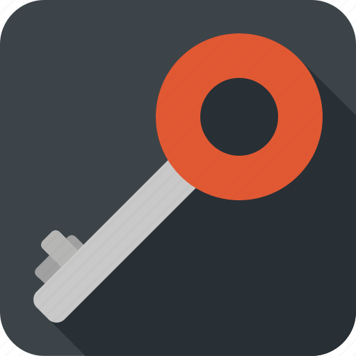 key, lock, password, protection, security icon
