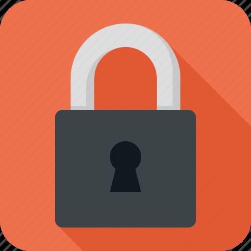 lock, locked, password, protect, security icon