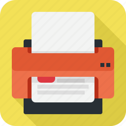 office, paper, print, printer, sheet icon