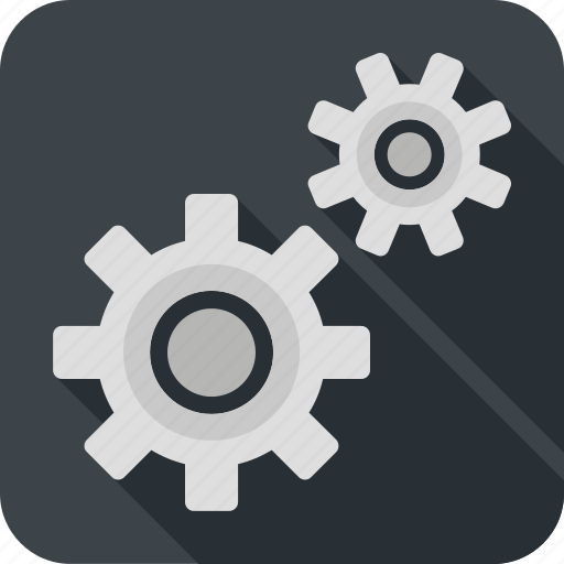 gear, options, services, support, tool icon