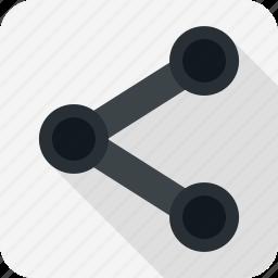 communication, internet, network, share icon
