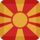 macedonia, of, rep icon
