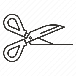 cut, cutter, cutting, scissor, stationery, tool icon