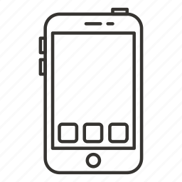 apps, call, communication, mobile phone, phone, smartphone, telephone icon
