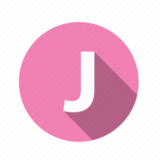 Graphic, alphabet, j, abc, letter, text, font icon