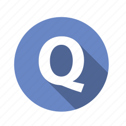 abc, alphabet, font, graphic, language, letter, q, text icon
