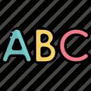 alphabet, letter, letters, abc, education, learning