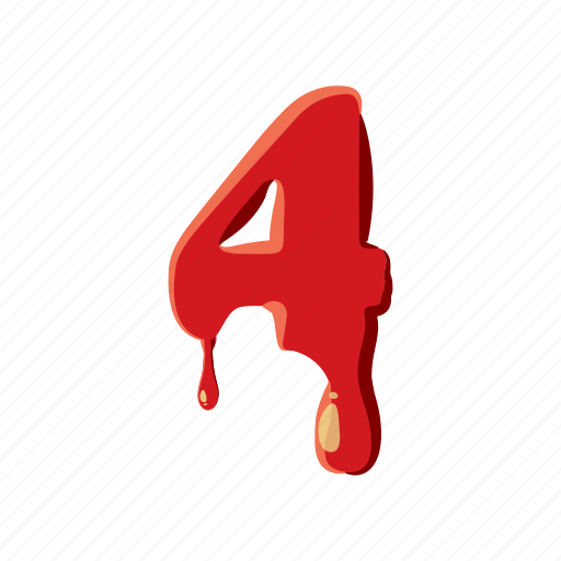 alphabet, blood, english, font, halloween, letter, liquid icon