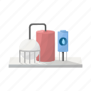 alternative, eco, ecology, electric, energy, equipment, installation icon