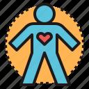 body, health, heart, mind, spirit icon