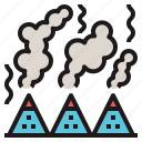 aroma, moxibustion, mugwort, smoke, therapy icon