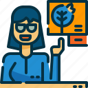 avatar, burn, disaster, forest, news, reporter, wildfire icon