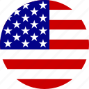 america, american, flag, states, united, united states, usa icon