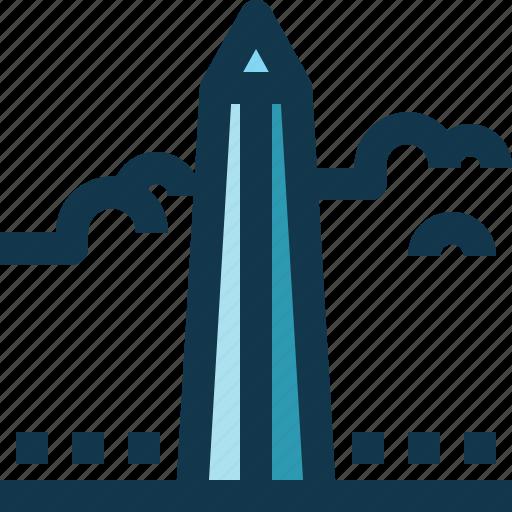 American, architecture, landmark, monument, united states, usa, washington icon - Download on Iconfinder