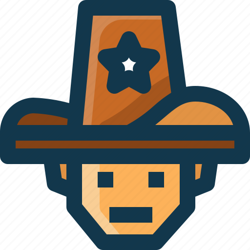 American, avatar, man, police, security, united states, usa icon - Download on Iconfinder