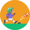 player, football, ball, american, sport, game, soccer