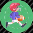 helmet, sports, player, football, american, sport, soccer