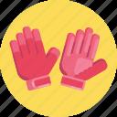 gloves, american, football, sport, sports