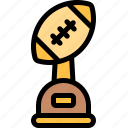 american, extreme, football, rugby, sport, trophy icon