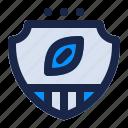 american, badge, emblem, football, game, sport, team icon